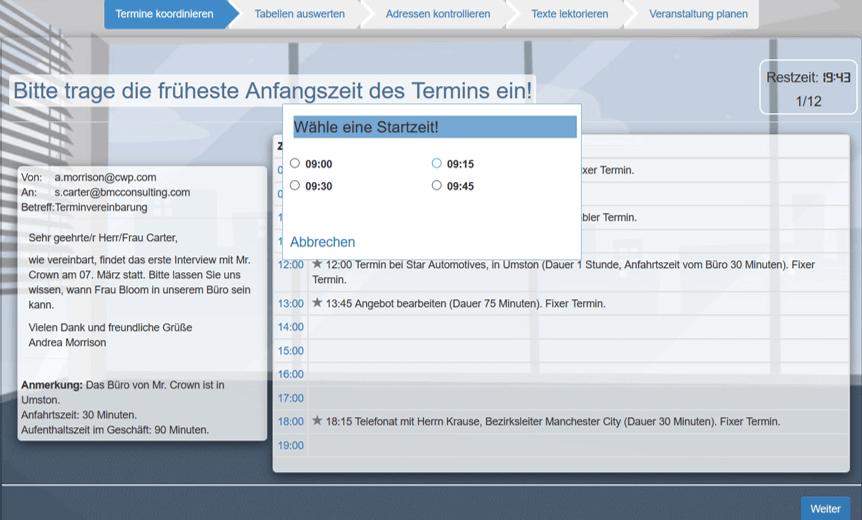 Office Online Test Organisatorische Kompetenz