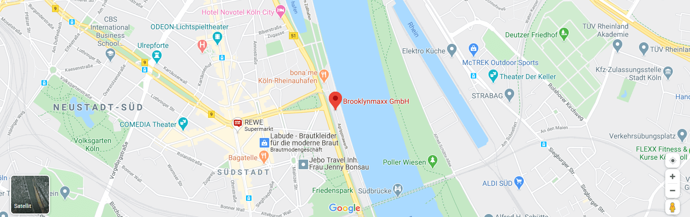 Google Maps Brooklynmaxx